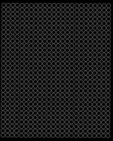 Koła grochy samoprzylepne 7 milimetrów czarne z połyskiem 720 szt